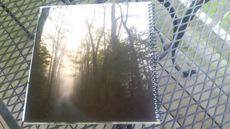 2015 Desktop Calendar-  Back Cover.  Great Smoky Mountains National Park, Tennessee